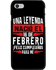16 de Febrero Phone Case tile