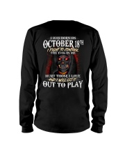 OCTOBER 18th Long Sleeve Tee tile