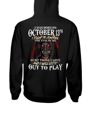 OCTOBER 13th Hooded Sweatshirt thumbnail