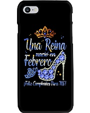 Camisetas Sublimadas Reina Febrero Phone Case thumbnail