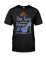 Camisetas Sublimadas Reina Febrero Classic T-Shirt thumbnail