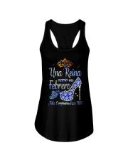 Camisetas Sublimadas Reina Febrero Ladies Flowy Tank thumbnail