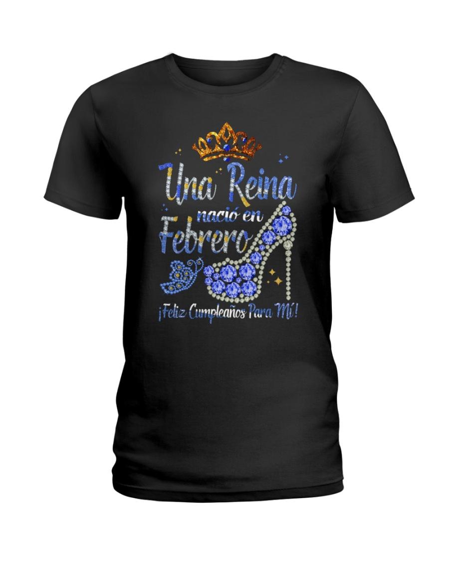 Camisetas Sublimadas Reina Febrero Ladies T-Shirt
