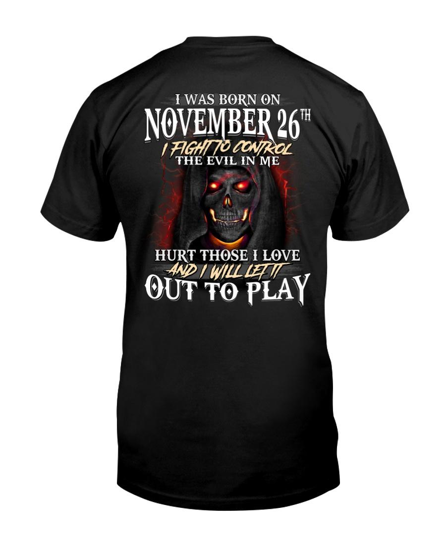 November 26th Classic T-Shirt