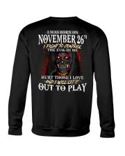 November 26th Crewneck Sweatshirt thumbnail