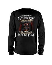 November 26th Long Sleeve Tee thumbnail