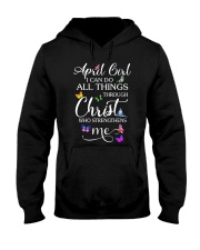 APRIL GIRL - L Hooded Sweatshirt thumbnail