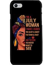 July T shirt Printing Birthday shirts for Women Phone Case thumbnail