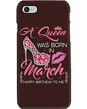 MARCH QUEEN Phone Case tile