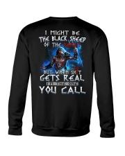 H-The black sheep-2 Crewneck Sweatshirt thumbnail