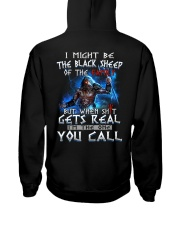 H-The black sheep-2 Hooded Sweatshirt thumbnail