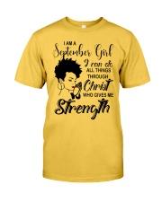 SEPTEMBER GIRL-D Classic T-Shirt front