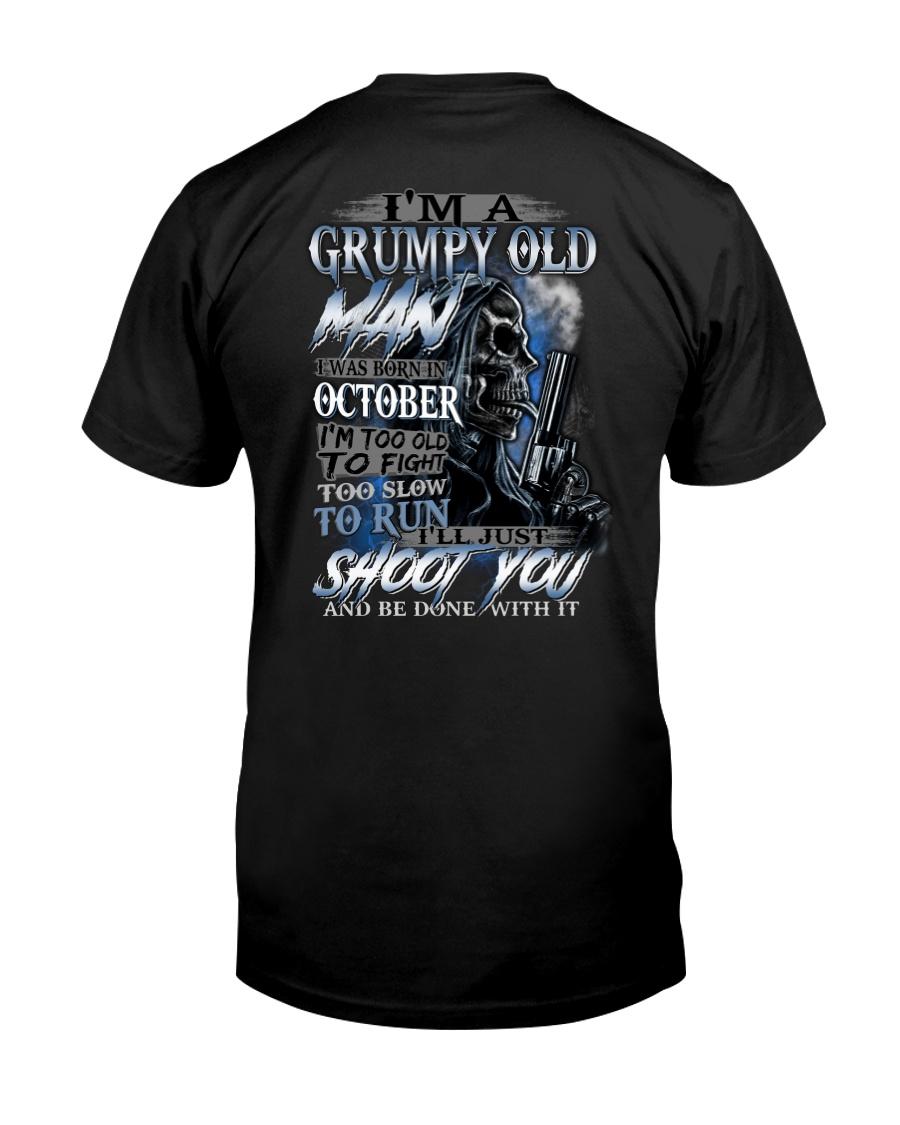 OCTOBER MAN - L Classic T-Shirt