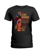 H- JUNE WOMAN Ladies T-Shirt front