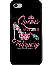 February Queen Shirt Birthday Shirts for Women Phone Case thumbnail