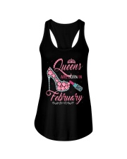 February Queen Shirt Birthday Shirts for Women Ladies Flowy Tank thumbnail