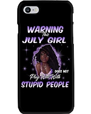 JULY GIRL Phone Case tile