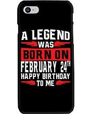 24th February legend Phone Case thumbnail