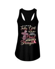 JULY GIRL - L Ladies Flowy Tank thumbnail