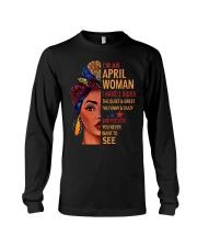 H- APRIL WOMAN Long Sleeve Tee thumbnail