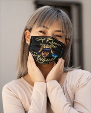 AUGUST QUEEN - D Cloth face mask aos-face-mask-lifestyle-17