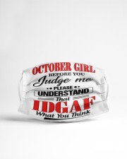 OCTOBER GIRL- LHA Cloth face mask aos-face-mask-lifestyle-22