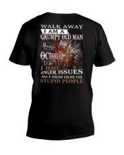 October 10th V-Neck T-Shirt thumbnail