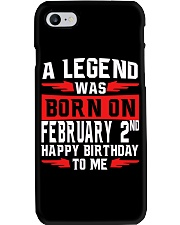 2nd February legend Phone Case thumbnail
