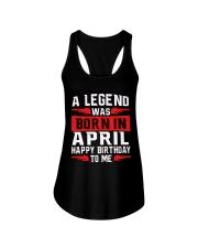 April legend- Ladies Flowy Tank thumbnail