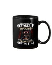 OCTOBER 4th Mug thumbnail