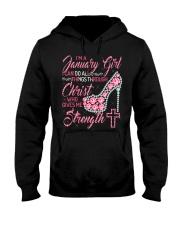 January shirt Printing Birthday shirts for Women Hooded Sweatshirt thumbnail