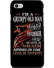 GRUMPY OLD MAN 23 Phone Case thumbnail