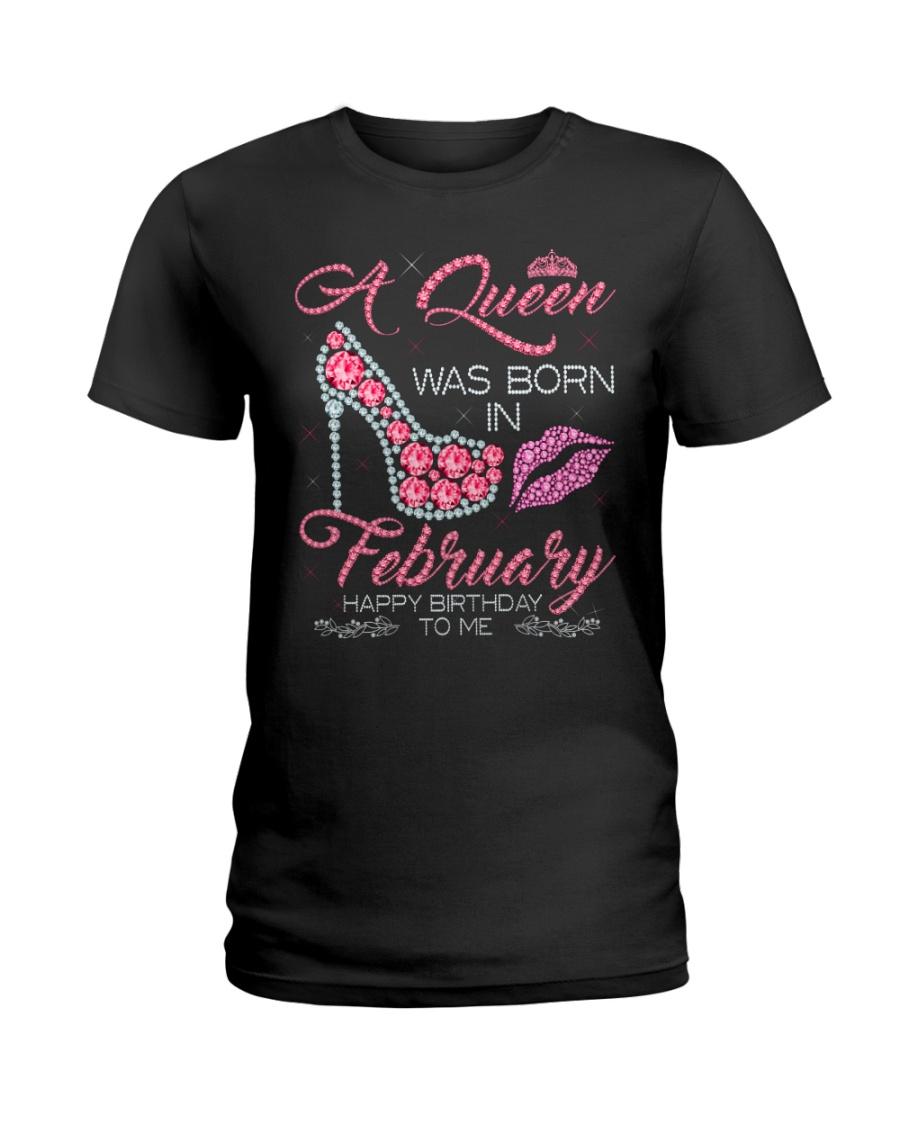 FEBRUARY QUEEN Ladies T-Shirt