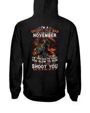 H-Grumpy old man November tee Cool T shirt for Men Hooded Sweatshirt thumbnail