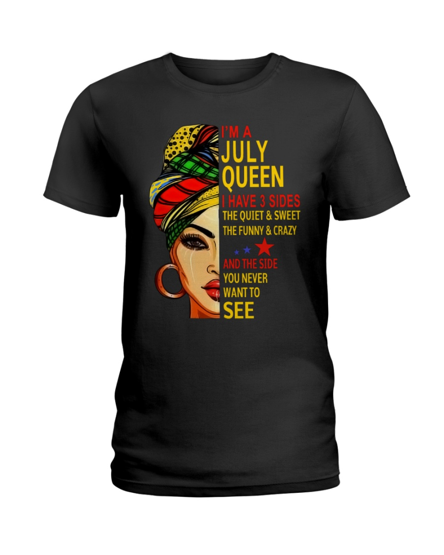 H-JULY QUEEN Ladies T-Shirt