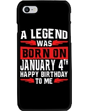 JANUARY LEGEND Phone Case tile