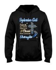 September Girl-V Hooded Sweatshirt thumbnail