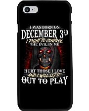 December  3rd Phone Case thumbnail