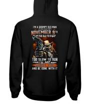November 9th Hooded Sweatshirt thumbnail