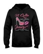 JANUARY QUEEN-D Hooded Sweatshirt thumbnail