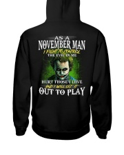 Birthday shirt design for November boys men Hooded Sweatshirt thumbnail