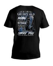H-OCTOBER MAN V-Neck T-Shirt thumbnail