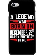 December 22nd Phone Case thumbnail