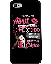 H-Camisetas sublimadas mujer clásica en April Phone Case thumbnail