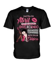 H-Camisetas sublimadas mujer clásica en April V-Neck T-Shirt thumbnail