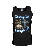 February Girl Unisex Tank thumbnail