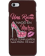 UNA REINA MARZO Phone Case thumbnail