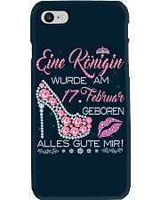17 Februar Phone Case tile