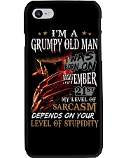 GRUMPY OLD MAN 21 Phone Case thumbnail