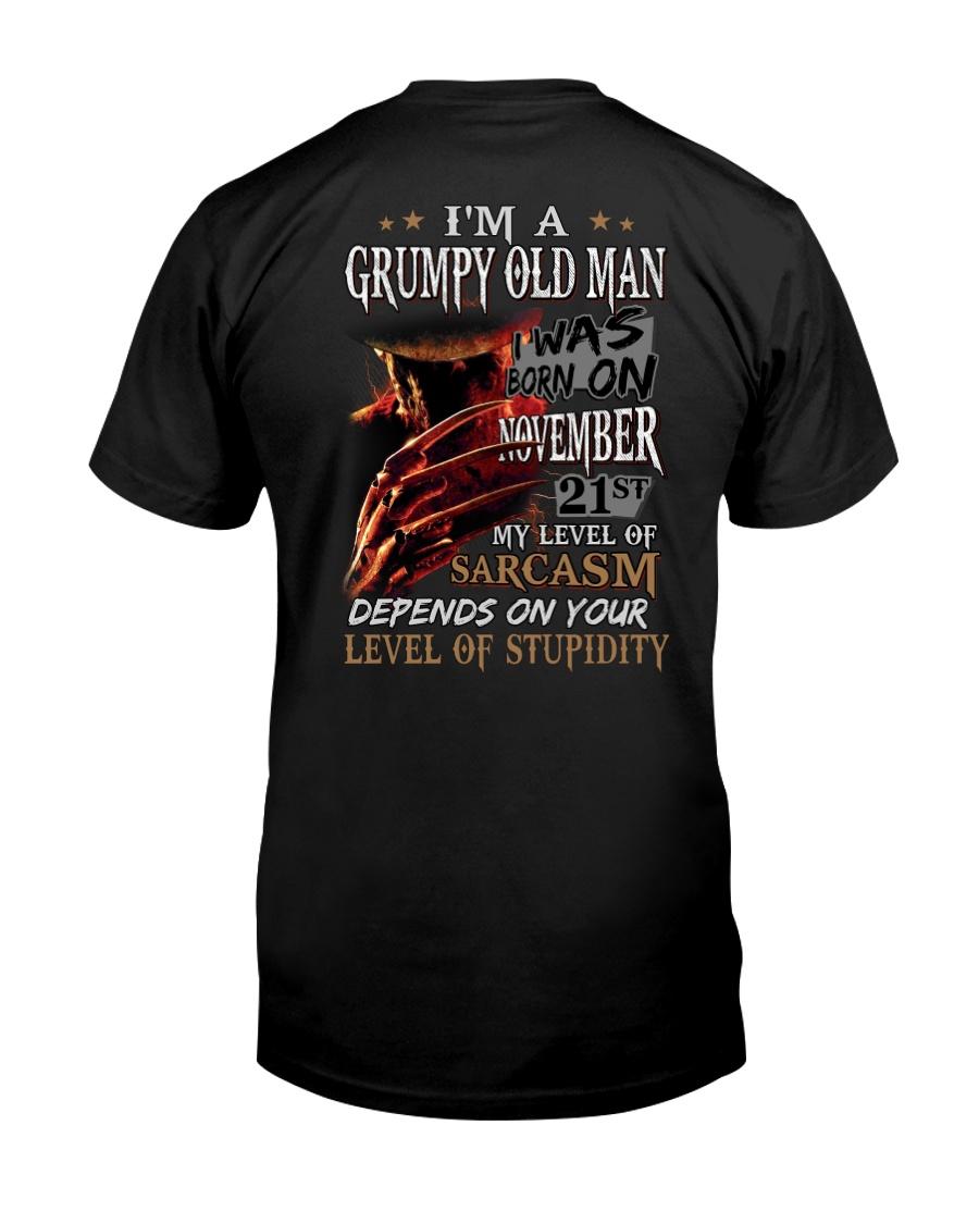 GRUMPY OLD MAN 21 Classic T-Shirt